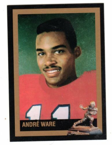 Andre Ware Houston Cougars 1989 Heisman Trophy winner card