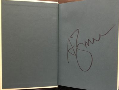 Andrew Zimmern autographed AZ and the Lost City of Ophir hardcover first edition book