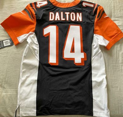 Andy Dalton Cincinnati Bengals 2012 to 2016 authentic Nike Elite game model jersey NEW WITH TAGS