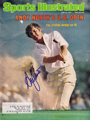 Andy North autographed 1978 U.S. Open golf Sports Illustrated