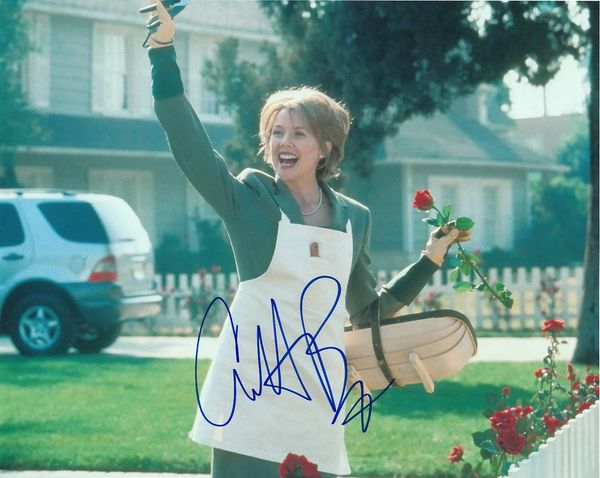 Annette Bening autographed American Beauty 8x10 photo