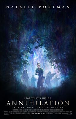 Annihilation 2018 11x17 inch mini promo movie poster (Natalie Portman)