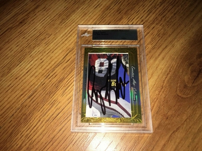 Anquan Boldin 2016 Leaf Masterpiece Cut Signature certified autograph card 1/1 JSA