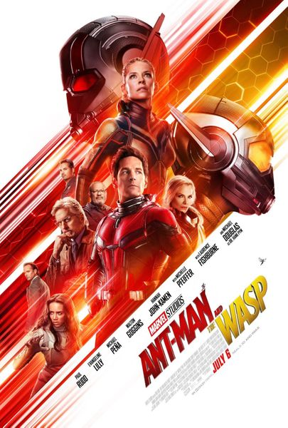 Ant-Man and the Wasp 2018 mini Marvel movie poster (Evangeline Lilly Paul Rudd)