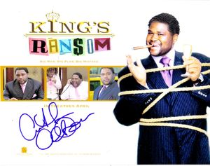 Anthony Anderson autographed King's Ransom 8x10 movie photo