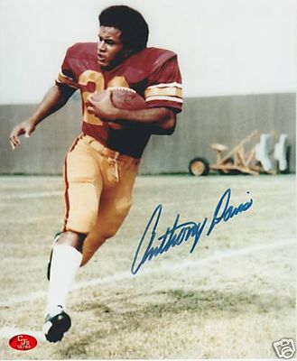 Anthony Davis autographed USC 8x10 photo