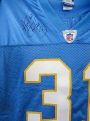 Antonio Cromartie autographed San Diego Chargers authentic Reebok stitched throwback jersey