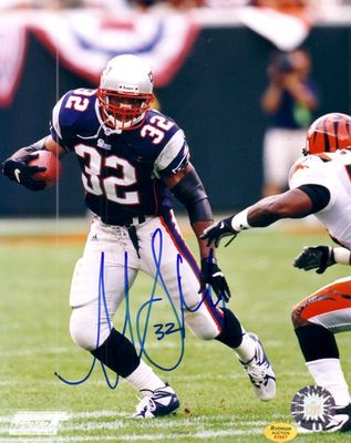 Antowain Smith autographed New England Patriots 8x10 photo