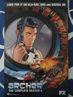 Archer Season 6 2015 Comic-Con mini promo poster