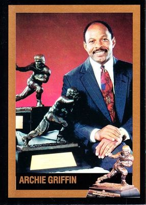 Archie Griffin Ohio State Buckeyes 1975 Heisman Trophy winner card