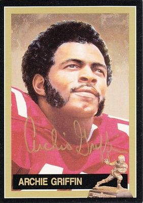Archie Griffin autographed Ohio State 1974 Heisman Trophy card