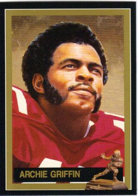 Archie Griffin Ohio State Buckeyes 1974 Heisman Trophy winner card