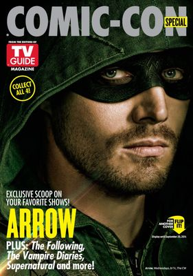 Arrow and Flash 2014 Comic-Con TV Guide magazine