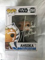 Ashley Eckstein autographed Star Wars Clone Wars Ahsoka Tano 2018 Funko Pop
