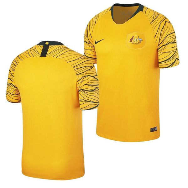 Australia 2018 World Cup authentic Nike yellow soccer jersey or kit NEW WITH TAGS