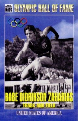 Babe Didrikson Zaharias Olympic Hall of Fame 1995 Sports Illustrated for Kids card