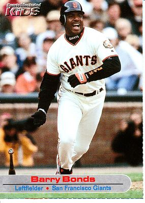 Barry Bonds 2001 Sports Illustrated for Kids card