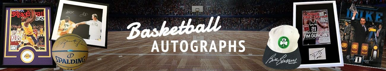 Basketball Autographs by Autographs for Sale