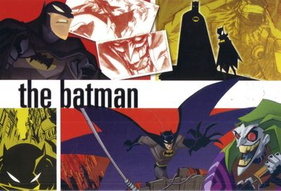 Batman Animated Series 5x8 promo card