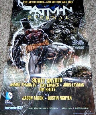 Batman Eternal 2014 DC Comics New 52 poster