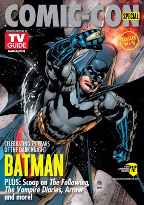 Batman and Gotham 2014 Comic-Con TV Guide magazine