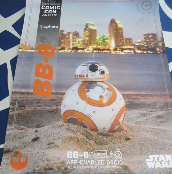 BB-8 Droid Star Wars 2016 San Diego Comic-Con exclusive 18x24 poster