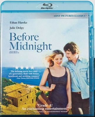 Before Midnight movie Blu-ray DVD (Ethan Hawke Julie Delpy)