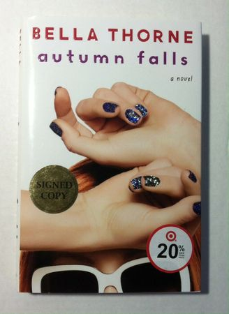 Bella Thorne autographed Autumn Falls hardcover first edition book