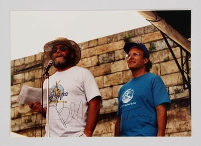 Ben and Jerry autographed 5x7 photo