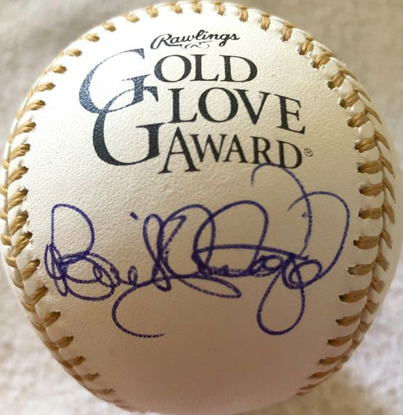 Benito Santiago autographed Rawlings Gold Glove baseball (MLB authenticated)