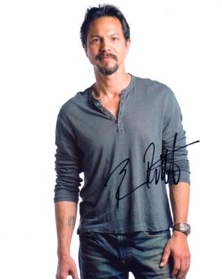 Benjamin Bratt autographed 8x10 portrait photo