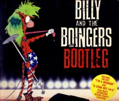 Berke Breathed autographed Bloom County Billy and the Boingers Bootleg book