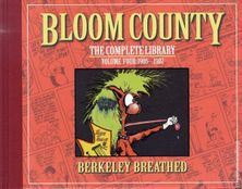 Berke Breathed autographed Bloom County Complete Library Volume 4 book (BINKLEY remarqued) #23/100