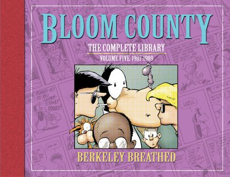 Berke Breathed autographed Bloom County Complete Library Volume 5 book (OPUS remarqued) #12/100
