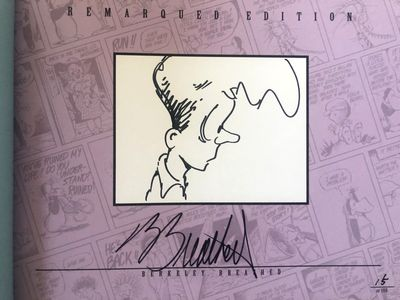 Berke Breathed autographed Bloom County Complete Library Volume 5 book (BINKLEY remarqued) #15/100