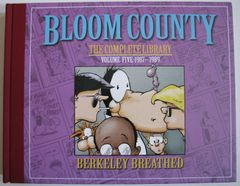Berke Breathed autographed Bloom County Complete Library Volume 5 book (BINKLEY remarqued) #14/100