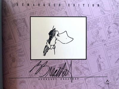 Berke Breathed autographed Bloom County Complete Library Volume 5 book (OPUS remarqued) #2/100