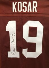 Bernie Kosar autographed Cleveland Browns authentic Champion stitched jersey (JSA Witnessed)