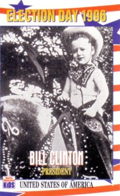 Bill Clinton 1996 Sports Illustrated for Kids card