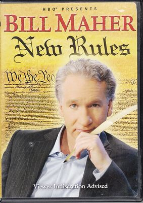 Bill Maher New Rules DVD