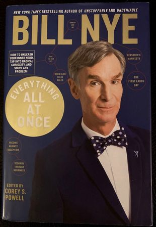 Bill Nye autographed Everything All At Once hardcover signed edition book