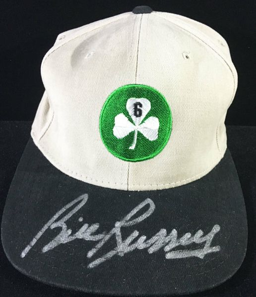 Bill Russell autographed Boston Celtics New Era cap or hat (PSA/DNA)