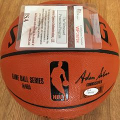 Bill Russell autographed Spalding NBA game model basketball (JSA Witnessed)