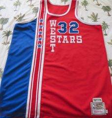 Bill Walton autographed 1978 NBA All-Star Game authentic Mitchell & Ness throwback jersey inscribed Hall of Fame '93