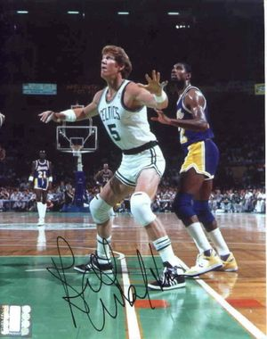 Bill Walton autographed Boston Celtics 8x10 photo