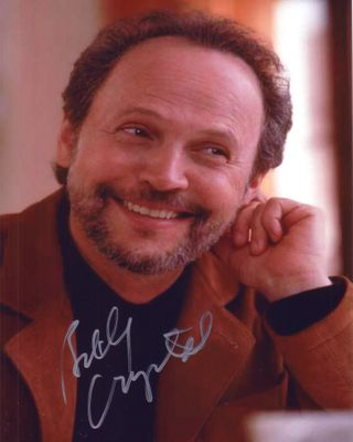 Billy Crystal autographed 8x10 portrait photo