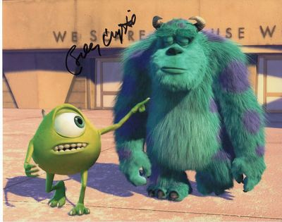 Billy Crystal autographed Monsters Inc. 8x10 photo