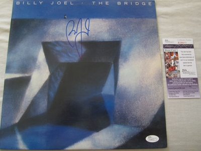 Billy Joel autographed The Bridge record album (JSA)