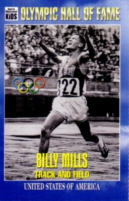 Billy Mills Olympic Hall of Fame 1995 Sports Illustrated for Kids card