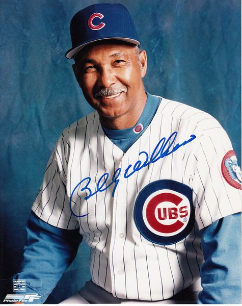 Billy Williams autographed Chicago Cubs 8x10 portrait photo